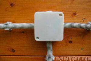 Электропроводка на даче